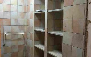北京瓷砖柜子施工过程