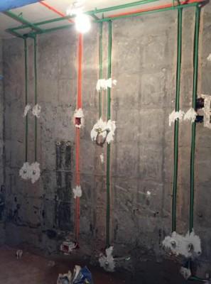 北京卫生间装修水电改造