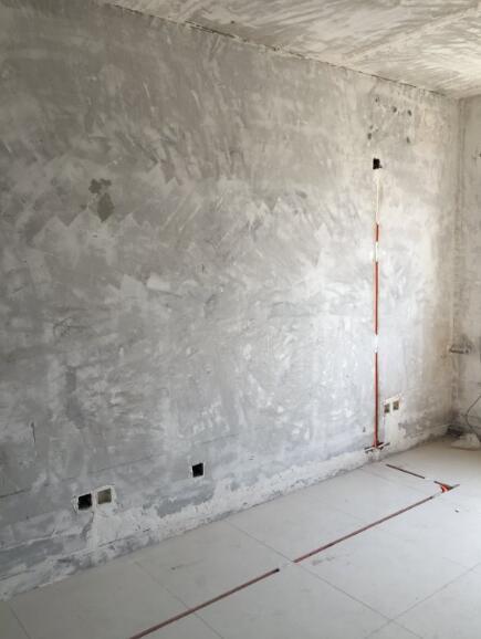 北京旧房装修水电开槽横平竖直