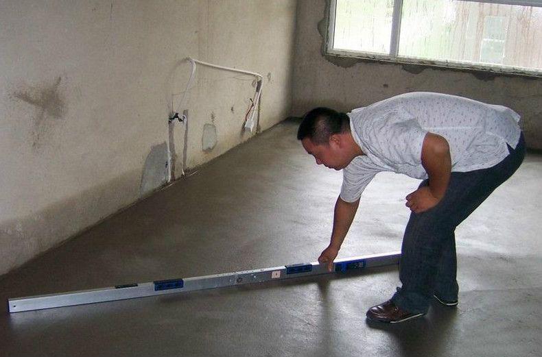 北京装修地面找平注意往楼下渗水