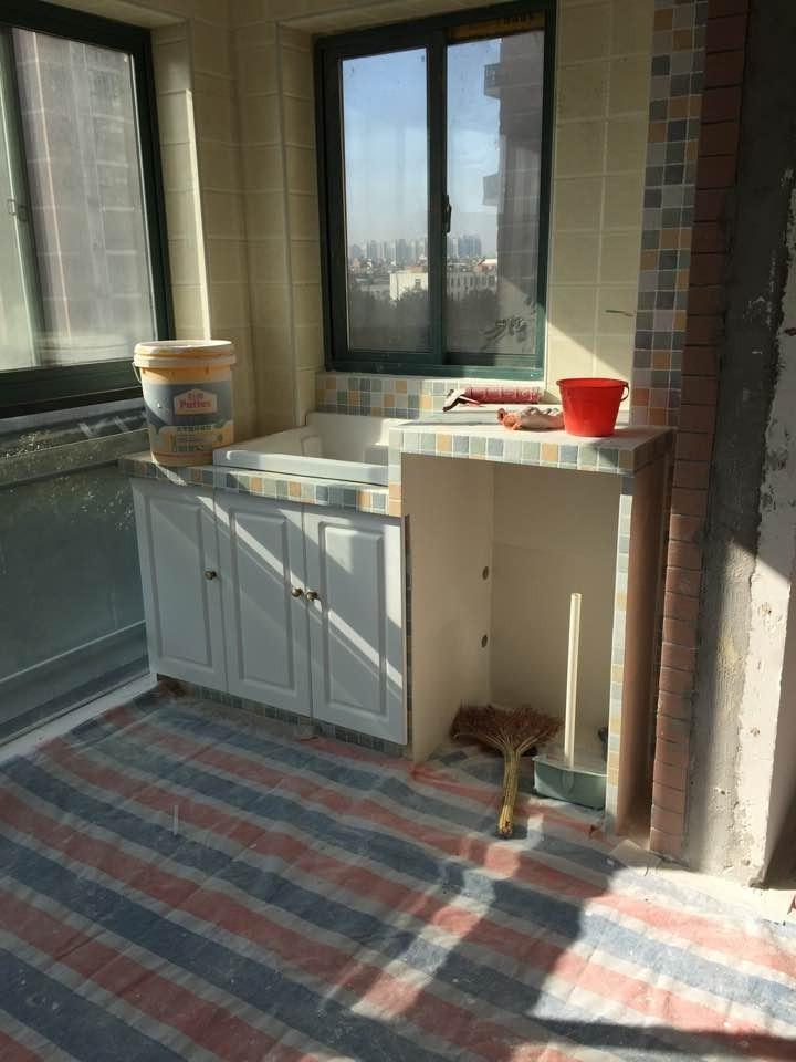 115平三房+砖砌洗手台+榻榻米温馨呈现 辛苦半年的成果