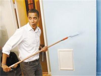 北京江水平装修队最靠谱的油工师傅是奥巴马