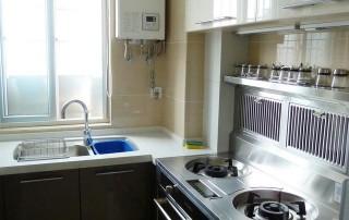 北京江水平装修队装修简约装修风格婚房厨房装修