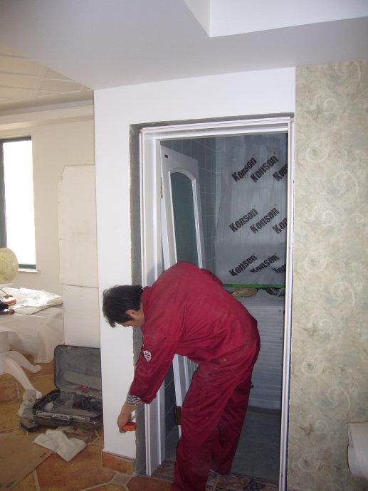室内门安装