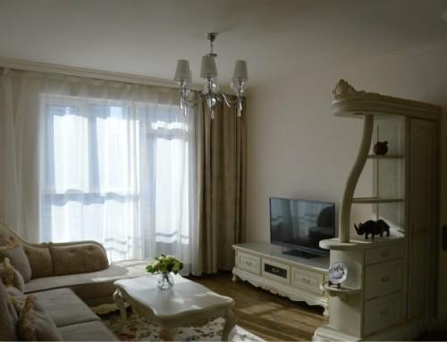 我的小户型欧式装修风格效果图,轻装修重装饰,北京装修案例!