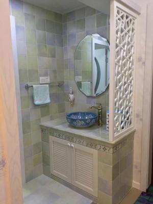 北京砖砌洗手台