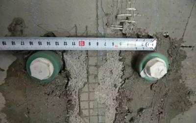 管径间距为15厘米
