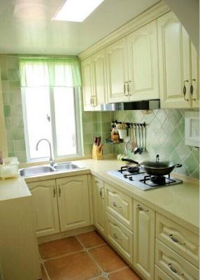 北京欧式装修风格厨房