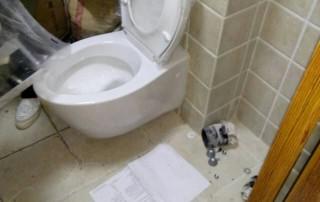 北京卫生间装修墙排马桶安装