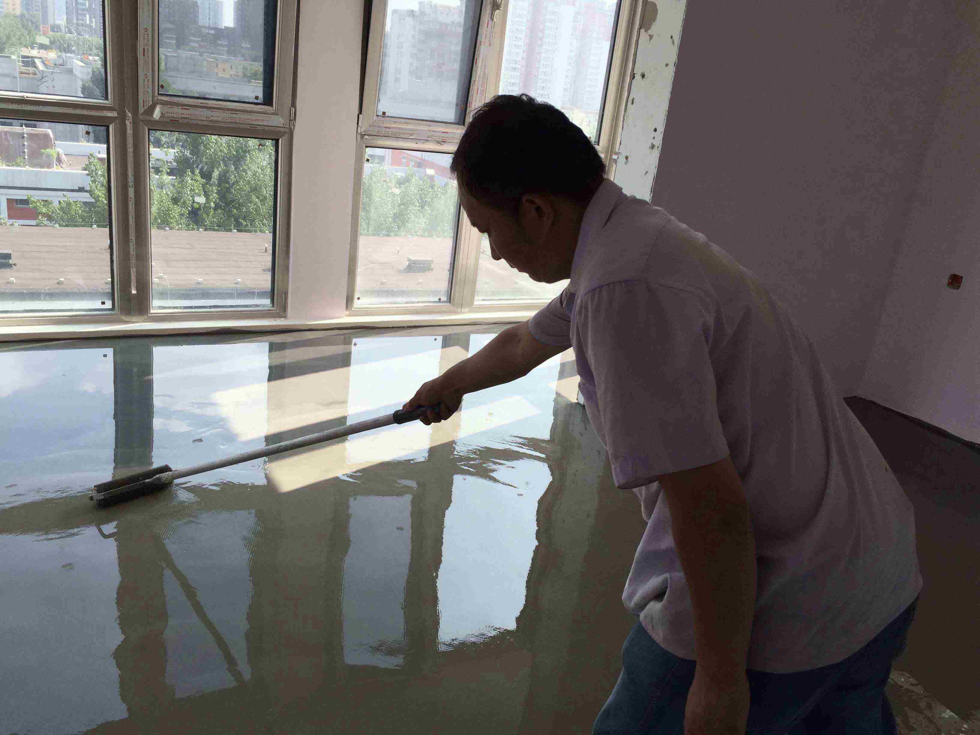北京水泥自流平做法