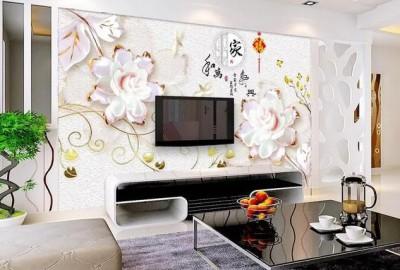 最土装修电视背景墙